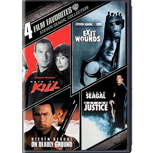 4 Film Favorites: Steven Seagal Action - Exit Wounds / Hard To Kill / Out For Justice / On Deadly Ground (Widescreen)