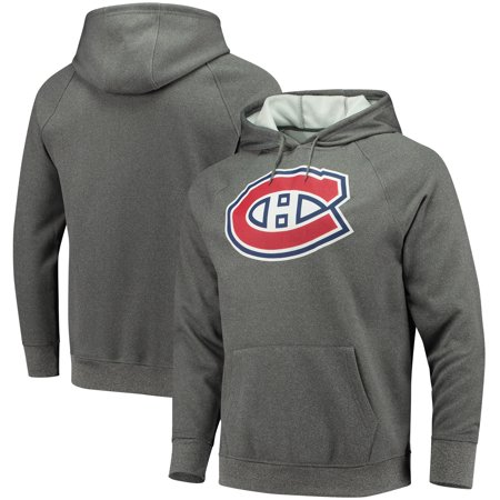 Montreal Canadiens Fanatics Branded Overtime Raglan Pullover Hoodie -