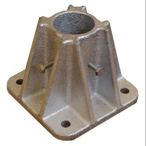 2HER7 Socket Mounting Base, Single, L 5 In