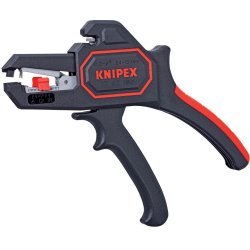 KNIPEX Tools 12 62 180, Self Adjusting Insulation Strippers AWG 10-24