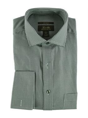 Tasso Elba Mens Houndsooth Button Up Dress Shirt
