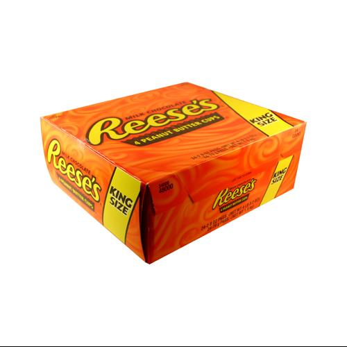 Reese's Peanut Butter Cup King Size 2.8 oz.: 24 Count