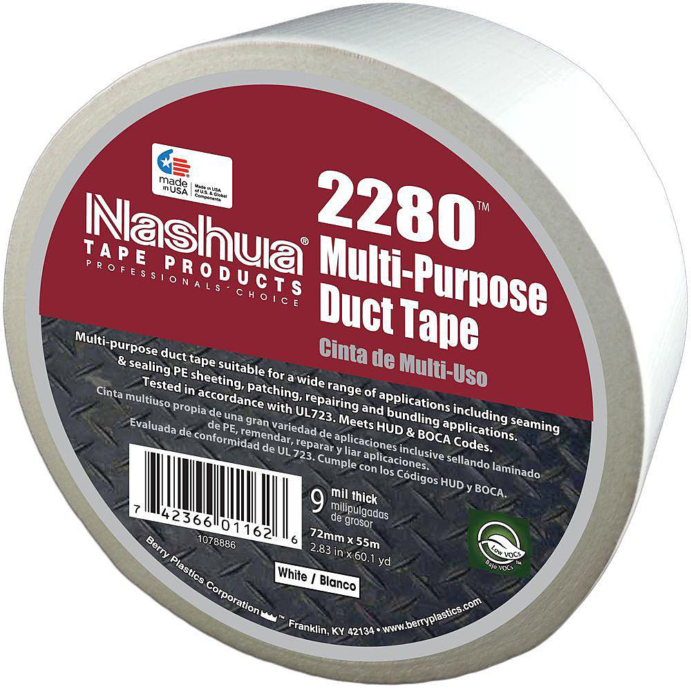 NASHUA 2280 Duct Tape,48mm x 55m,9 mil,Tan