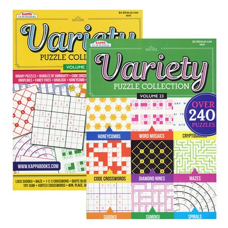 New 402393  Kappa Variety Puzzles & Games Book (48-Pack) School Supplies Cheap Wholesale Discount Bulk Stationery School Supplies](Discount Puzzles)