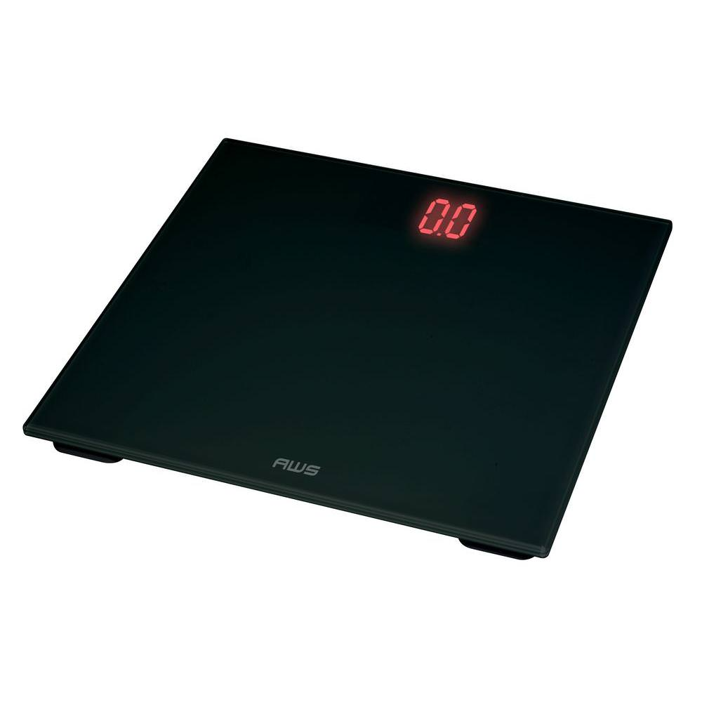 American Weigh Scales ZT-150 Zeta Digital Bathroom Scale Black
