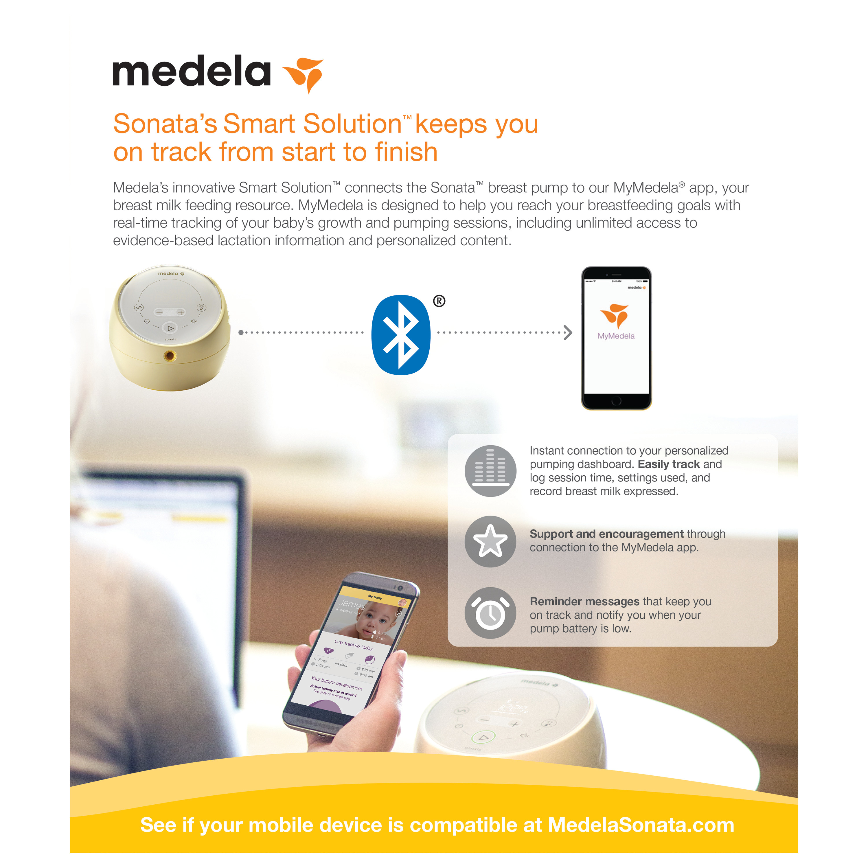 ghdonat.com Baby Breast Pumps Connects to Mymedela App Touch ...