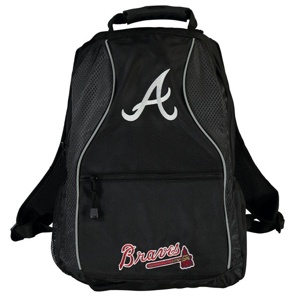 Atlanta Braves Phenom Back Pack by Concept One Accessories