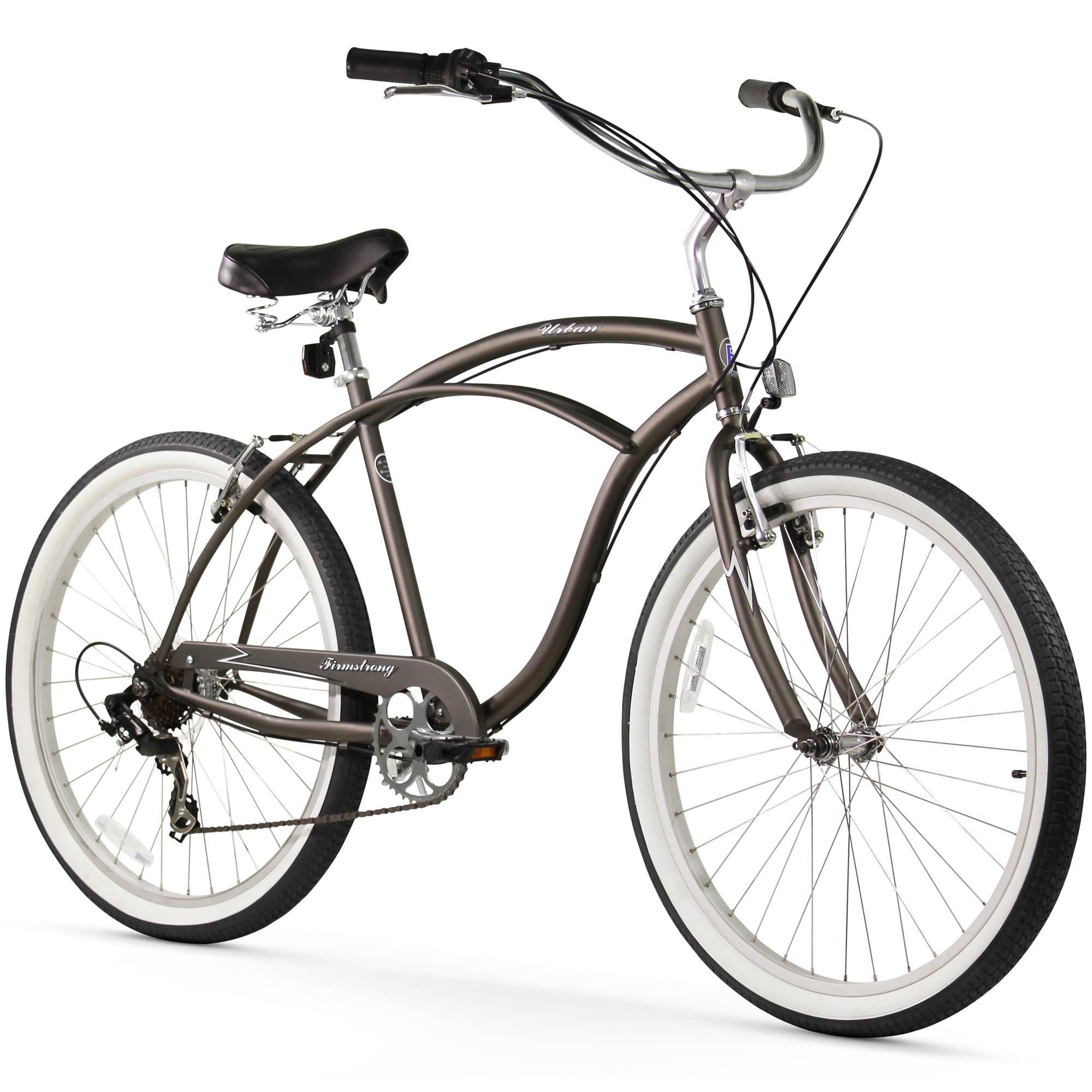 26 Firmstrong Urban Man Seven Sd Beach Cruiser Bicycle Black