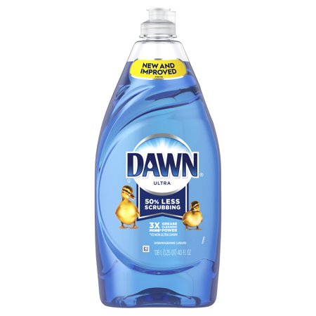 - Dawn Ultra Dishwashing Liquid Dish Soap, Original Scent, 40 fl oz