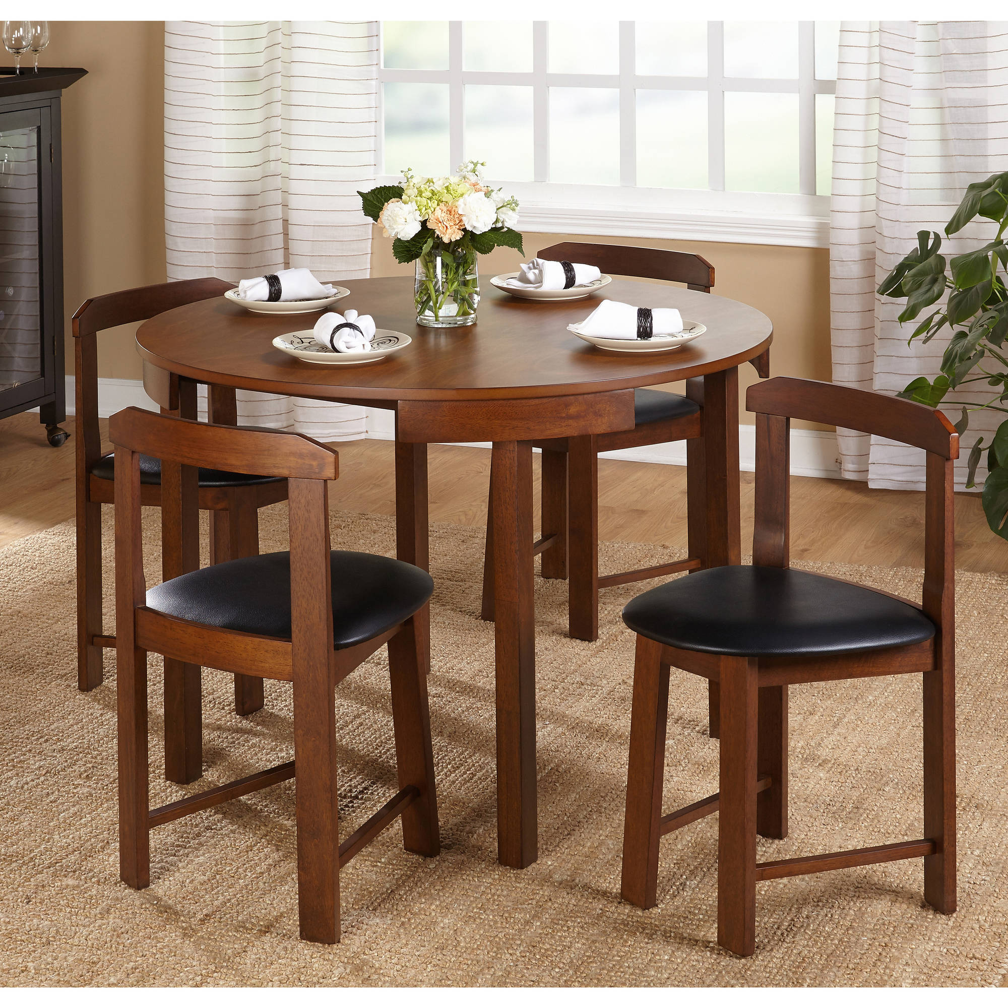 Gino 5-Piece Dining Set, Multiple Colors