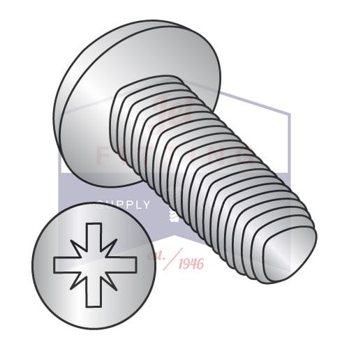 M5-0.8 x 10mm Din 7500C Metric Type Z Pan Thread Roll Screw Full Thd 18 8 Stain Steel Pass... by