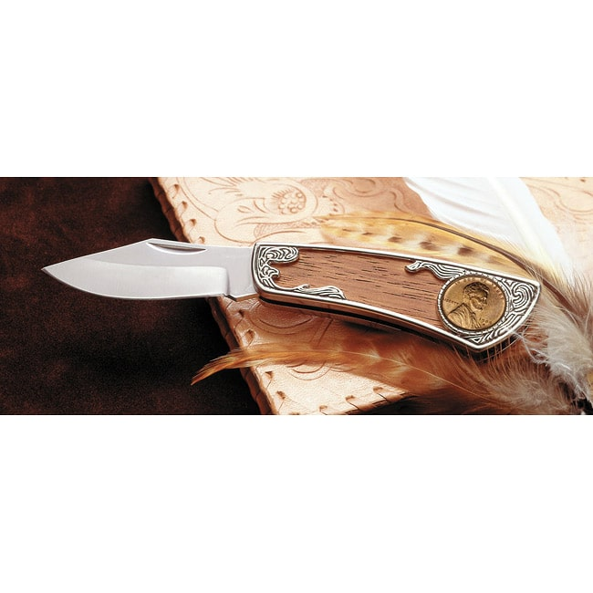 American Coin Treasures  1909 'First-Year-of-Issue' Lincoln Wheat Penny Pocket Knife