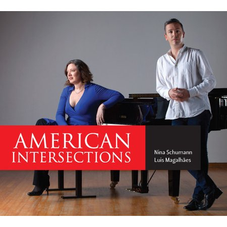 Barber   Schumann   Magalhaes   American Intersections  Cd