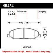 Hawk 05-10 Ford Mustang GT & V6 / 07-08 Shelby GT HPS Street Front Brake Pads