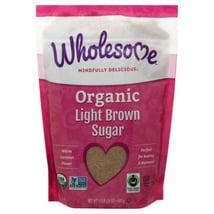 Sugar & Sweetener: Wholesome Organic Light Brown Sugar