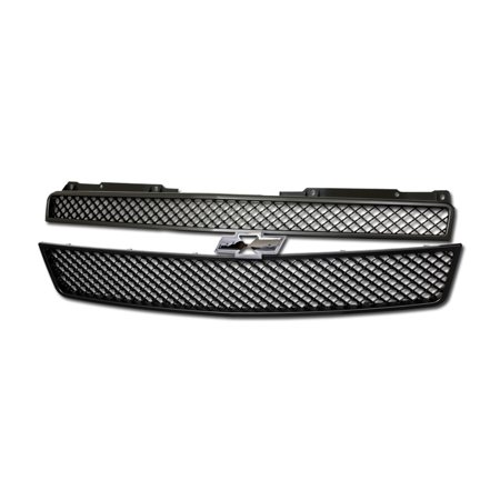 - RL Concepts Matte Black Mesh Front Hood Bumper Grill Grille Abs 07-14 Tahoe/Suburban/Avalanche MPN: GM1200596, GM1200563, GM1200590
