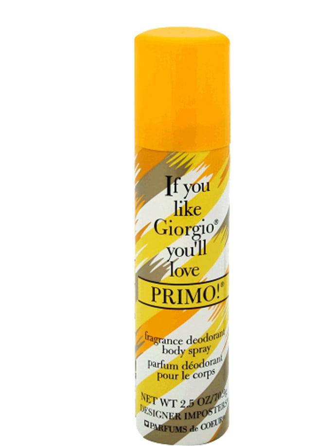 Parfums De Coeur Designer Imposters Primo! Body Spray for Women 2.5 oz by Parfums De Coeur