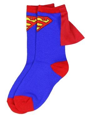 Justice League, Boys Socks, Caped Crew Socks (Little Boys & Big Boys)