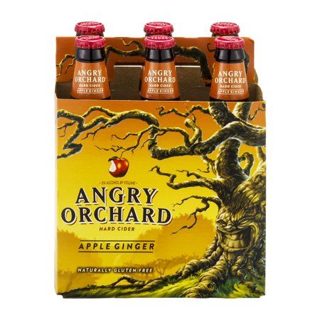Angry Orchard Hard Cider Apple Ginger - 6 PK, 12.0 FL OZ ...