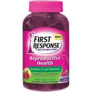 FIRST RESPONSE Reproductive Health Pre-Pregnancy Support Multivitamin Gummy, Berry Citrus 90 ea (Pack of 4)