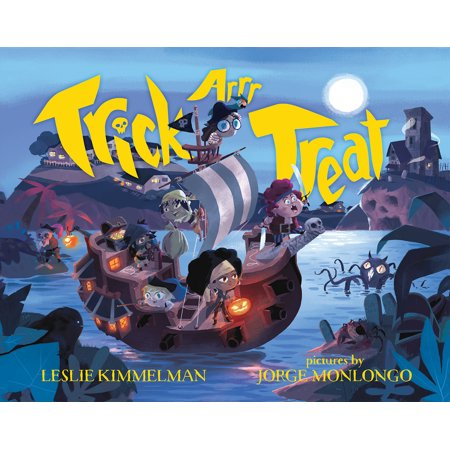 Trick ARRR Treat : A Pirate Halloween - Healthy Halloween Treat Ideas For School