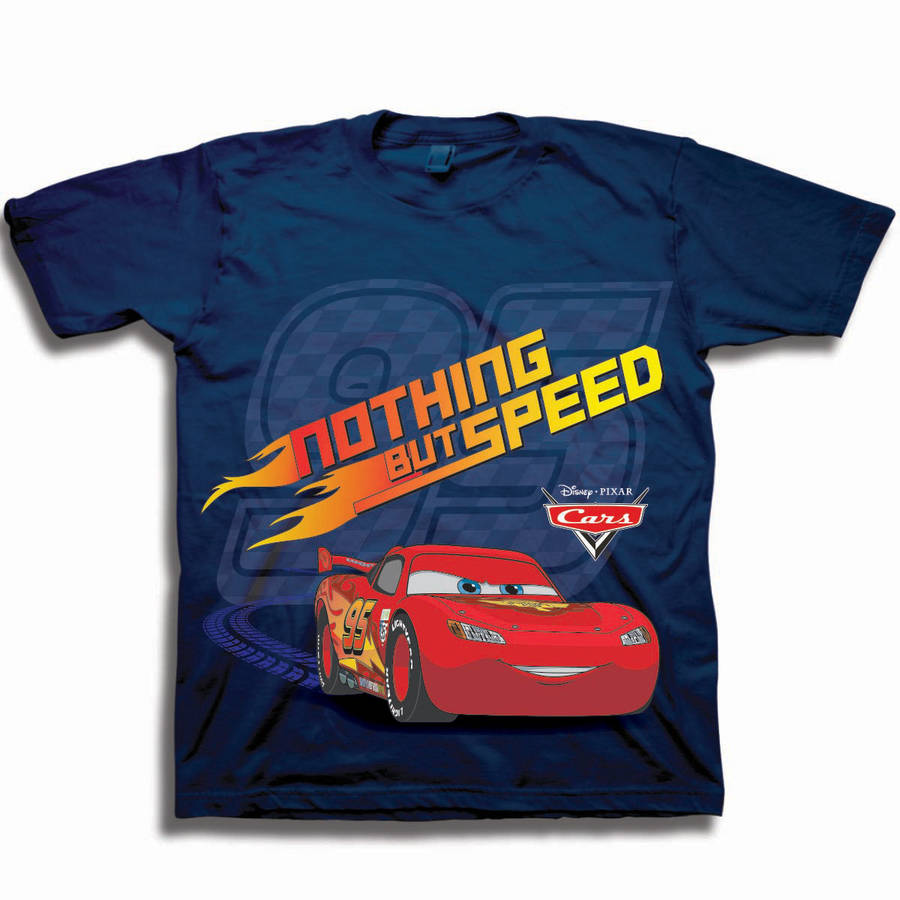 CarsToddler Boy Short Sleeve Graphic Tee Shirt