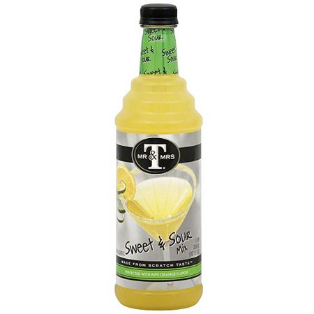 Mr & Mrs T Sweet And Sour Mix, 33.8 oz (Pack of