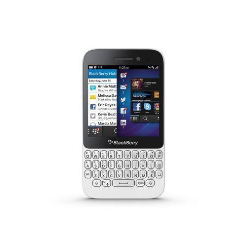 BlackBerry Q5 GSM Cell Phone (Unlocked), White
