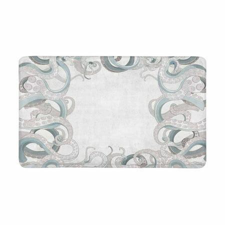 Nautical Bath Rugs (MKHERT Vintage Octopus Tentacles Sea Creatures Nautical Decor Doormat Rug Home Decor Floor Mat Bath Mat 30x18 inch)
