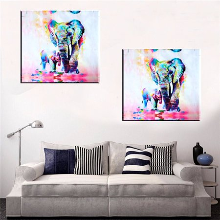 Modern Commemorative Proof (Canvas Painting Picture,MOHOO 50x50cm Unframed Waterproof Canvas Print Picture Modern Home Decor Wall Art Picture Watercolor )