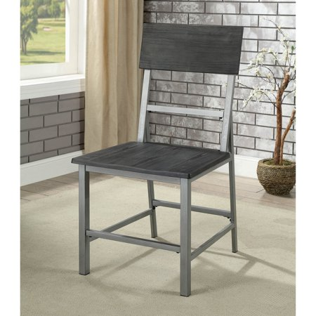 Ballard Office Set - Furniture of America Ballard Industrial Dining Side Chair - Set of 2