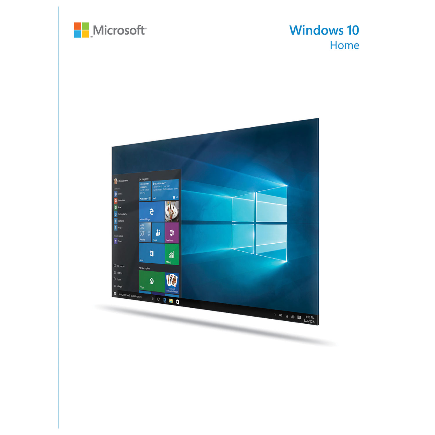 Windows 10 Home 32-bit (OEM Software) by Microsoft