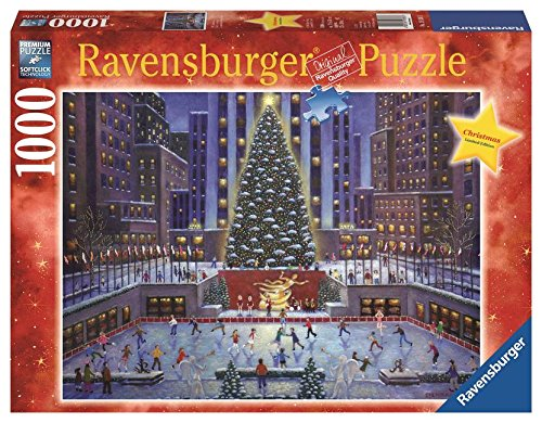 NYC Christmas 1000 piece, Ravensburger Limited Edition Holiday Puzzle ~ Artist Steve Klein By Ravensburger by