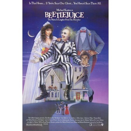 Beetlejuice - Movie Poster / Print (Tim Burton) (Size: 27