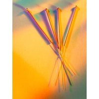View of Several Acupuncture Needles Print Wall Art By Tek Image