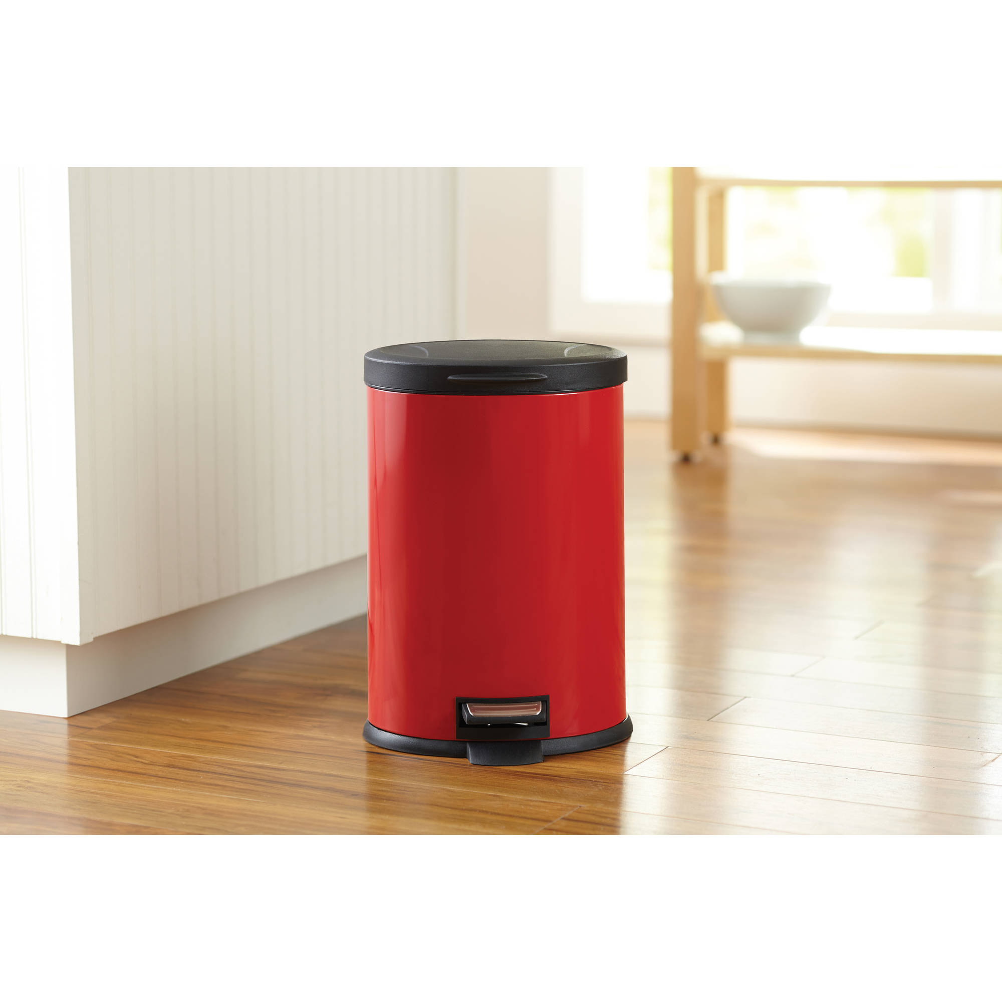 Better homes and gardens 3 2 gallon oval trash can ebay - Better homes and gardens trash can ...