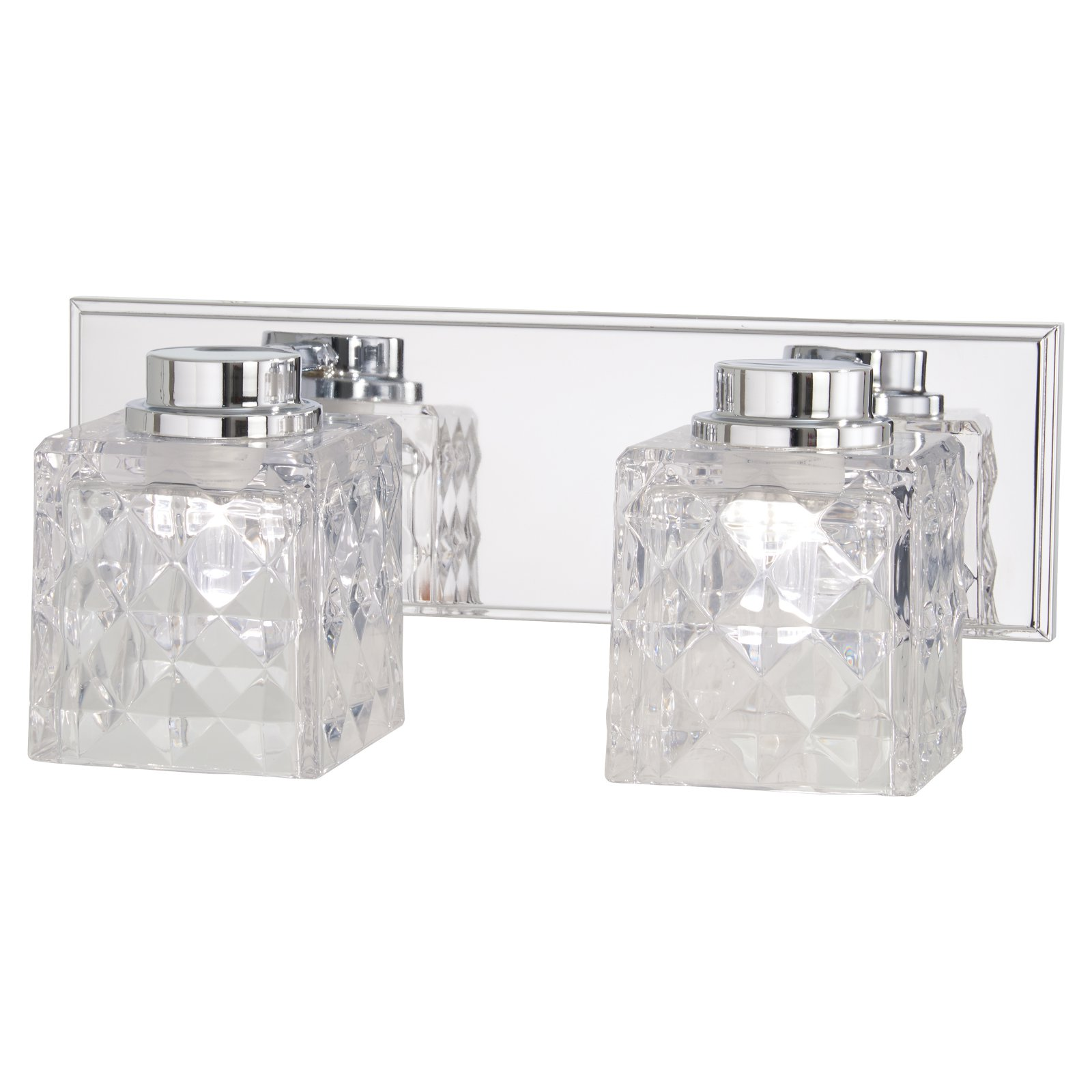 Minka Lavery Glorietta 4792-77-L 2 Light Bathroom Vanity Light