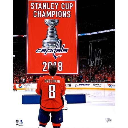 53e12d55 Alex Ovechkin Washington Capitals Autographed 16