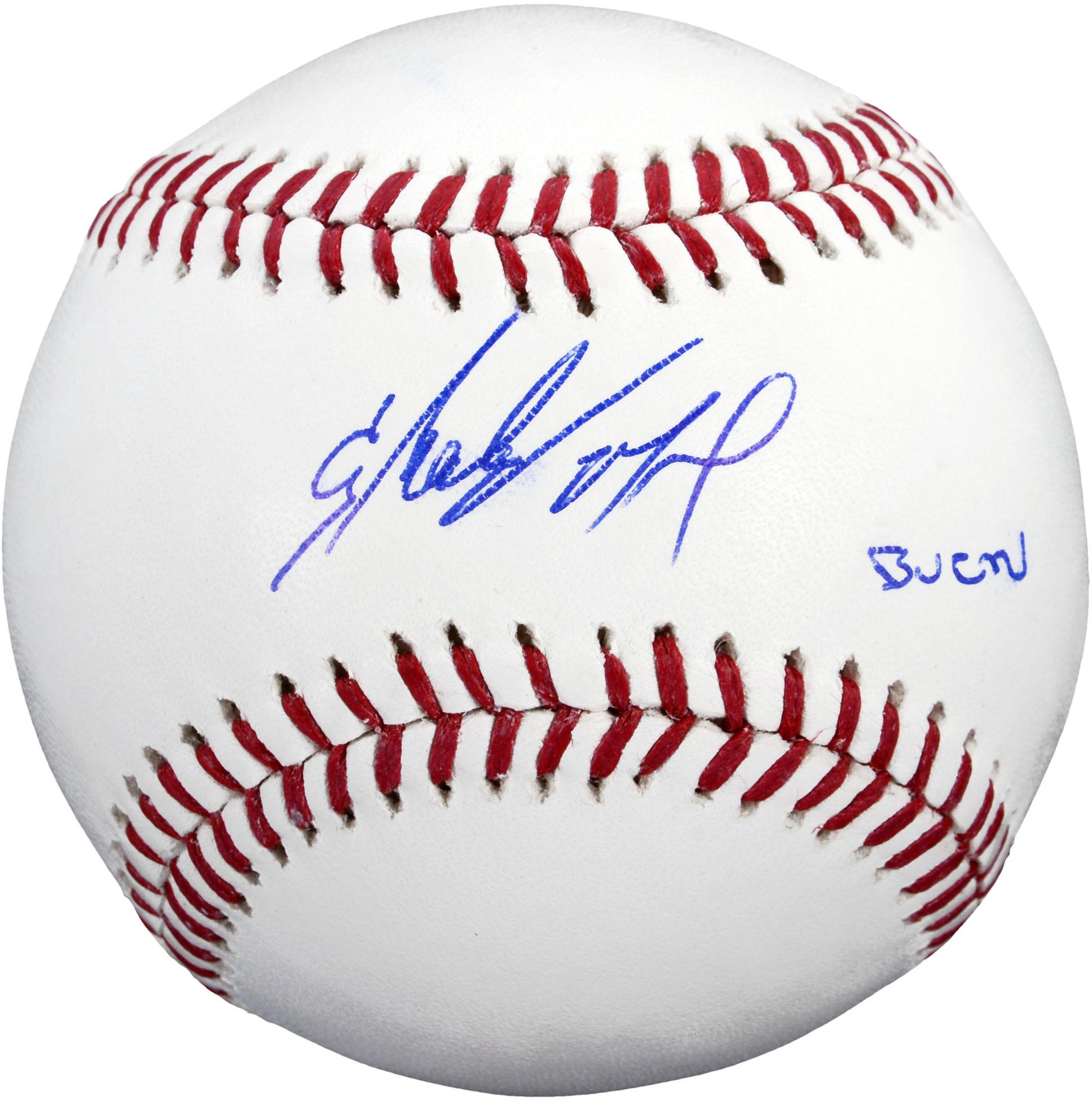 Starling Marte Pittsburgh Pirates Autographed Baseball With Bucn Inscription