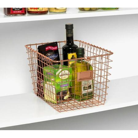 Spectrum Small Storage Basket, Copper ()