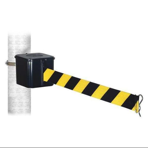 RETRACTA-BELT WH412SB15-HC-BYD Retractable Belt Barrier,15 ft.,4inH G0285568