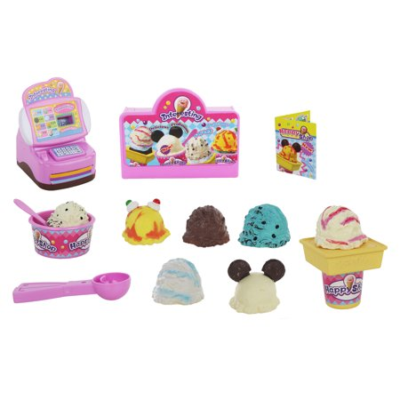 Ice Cream Mini Button - Kids Toy Set Mini Cash Registers Play food Ice Cream Shop