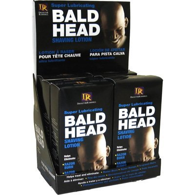 Daggett & Ramsdell Bald Head Shaving Lotion (Pack of 6) (Personal Shaving Lotion)