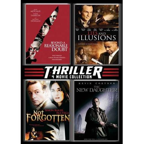 Thriller 4 Pack: Beyond A Reasonable Doubt / Lies And Illusions / Not Forgotten / The New Daughter