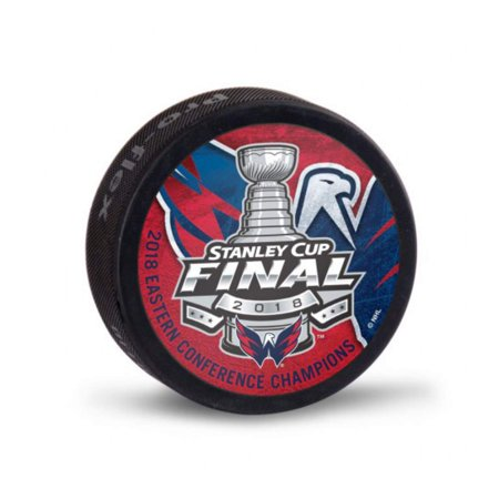 Washington Capitals 2018 Stanley Cup Final Eastern Conf Champions Hockey (Autographed Stanley Cup Hockey Puck)