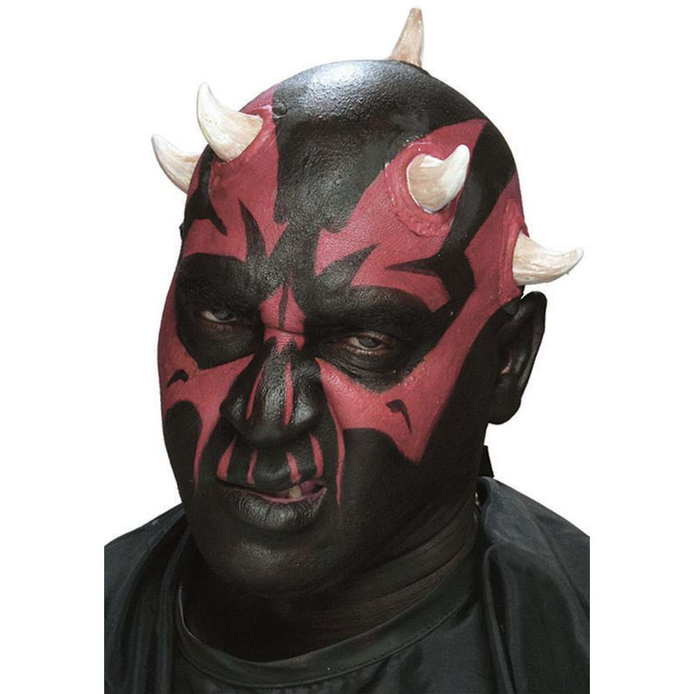 Dark Sith Horns Prosthetic Appliance