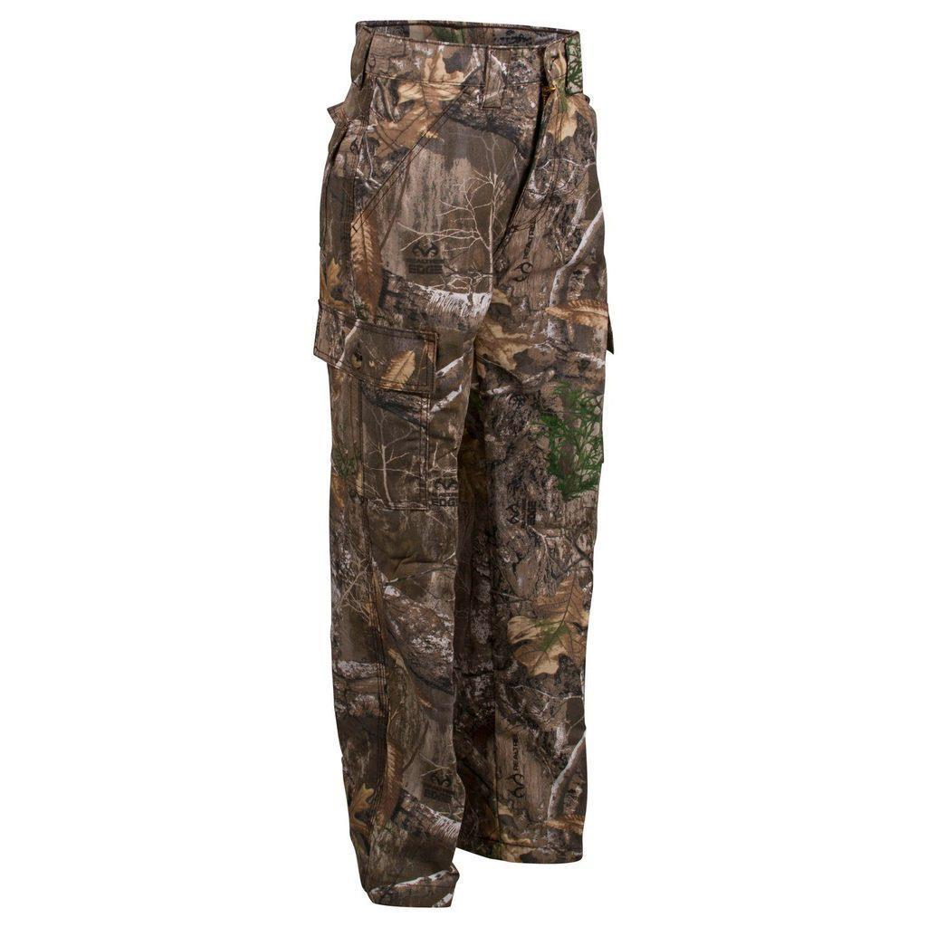 King's Camo Kids Realtree Edge Classic Cotton Six Pocket Pants by