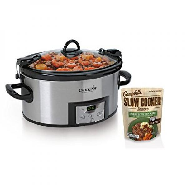 CROCK-POT SCCPVL610-S 6-Quart Programmable Cook and Carry...
