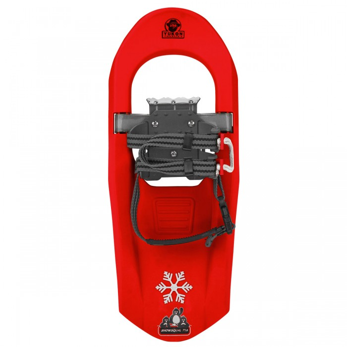SNOWSQUALL Youth Snowshoe KIT Red by Airhead Sports Group