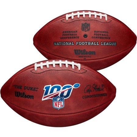"Wilson NFL 100 ""The Duke"" Official NFL Leather Football"